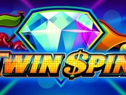 Banner spelautomat Twin spin diamant