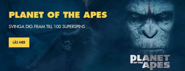 Bethard Planet of the Apes casinoturnering
