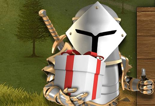Jackpot Knights fredagsbonus
