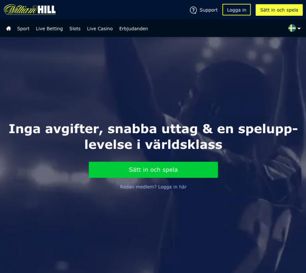 williamhill casino frontpage