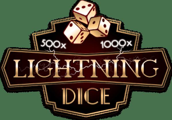Lightning dice logo